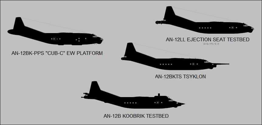 An-12 special variants