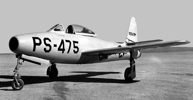 XP-84 prototype