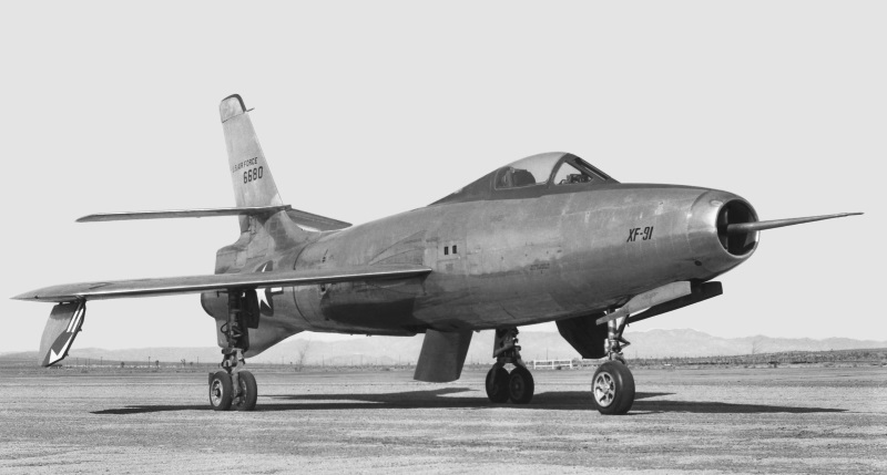 XF-84H Thunderscreech