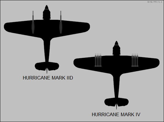 Hurricane Mark IID, Hurricane Mark IV