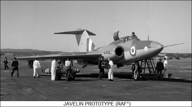 Gloster Javelin FAW.7
