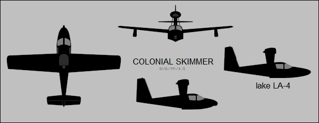 Colonial Skimmer / Lake LA-4