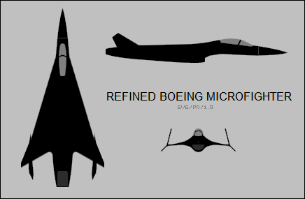 refined Boeing microfighter concept