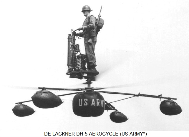de Lackner DH-5 Aerocycle