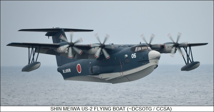 Shin-Meiwa US-2 flying boat