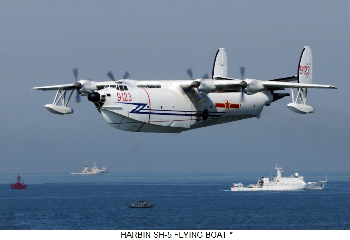 Harbin SH-5 flying boat