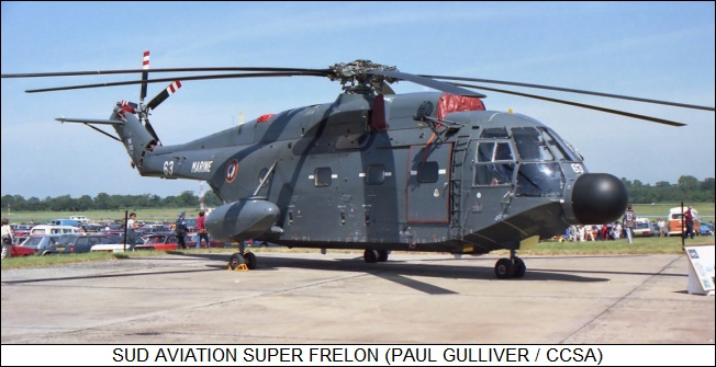 Sud Aviation Super Frelon