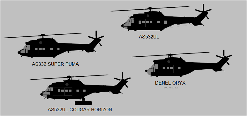 AS 332 / AS 532UL / Cougar Horizon / Denel Oryx