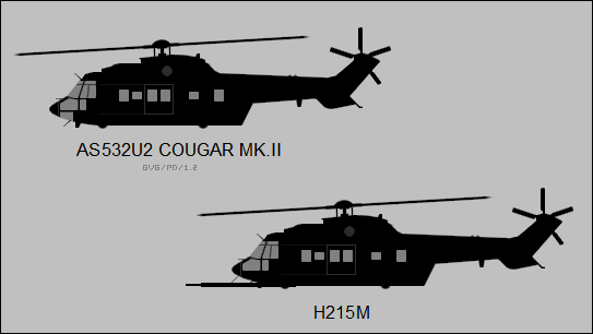 AS 532U2 Cougar Mk.II / EC 725 Caracal