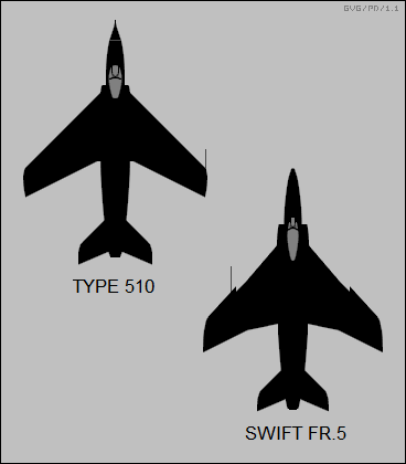 Supermarine Type 510, Swift FR.5