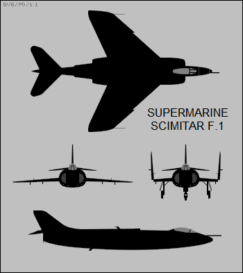 Supermarine Scimitar F.1