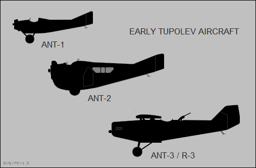 Tupolev ANT-1, ANT-2, ANT-3 / R-3