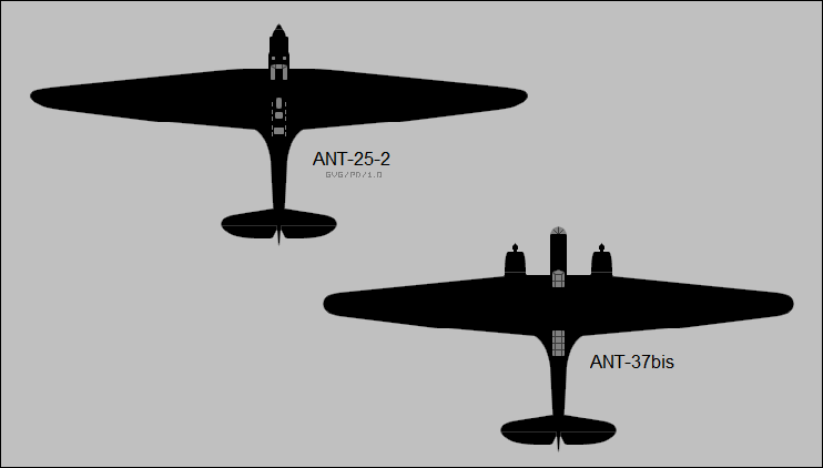 Tupolev ANT-25-2 & ANT-37