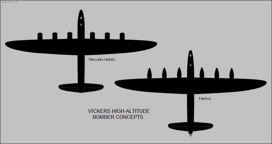 Vickers high altitude bombers
